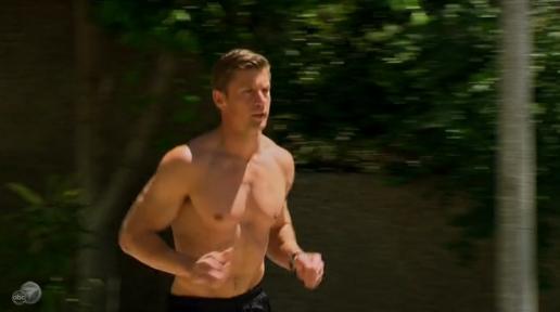 Drew running